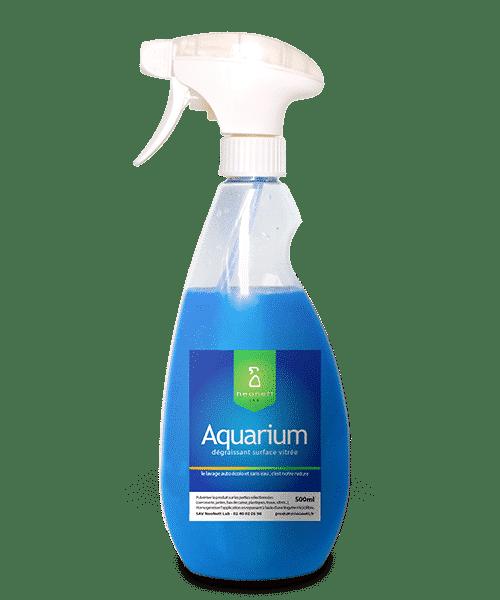 Aquarium - produit vitre ultra dégraissant - neonettlablab
